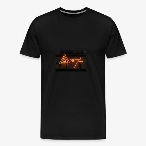 8 no74 02 - Herre premium T-shirt