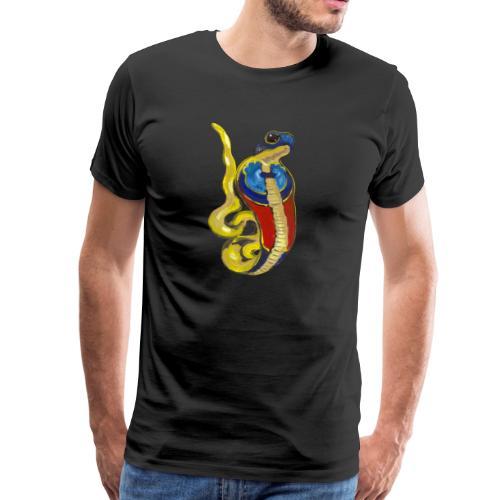 Altägyptische Göttin Wadjet - Männer Premium T-Shirt