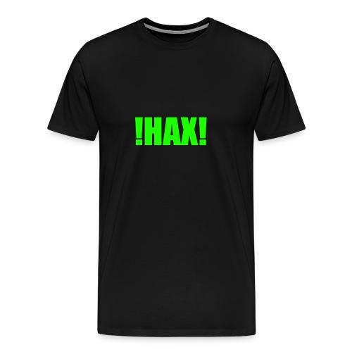 HAX-shirt by BOT SHELL - Männer Premium T-Shirt