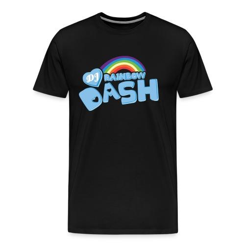 Rainbow Dash Logo neu - Männer Premium T-Shirt