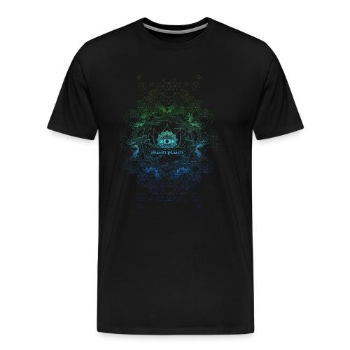 shanti blue/green - Men's Premium T-Shirt