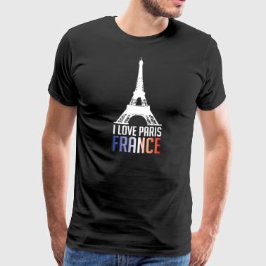 J'aime Paris- France - T-shirt Premium Homme