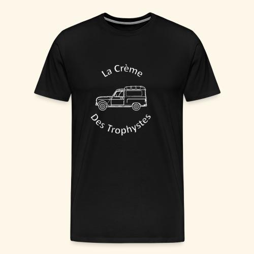 La Crème Des Trophystes - Modèle Fourgonette Blanc - T-shirt Premium Homme
