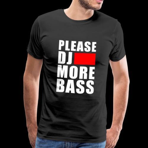 lustiges Dj Spruch Techno Goa Festival Geschenk - Männer Premium T-Shirt