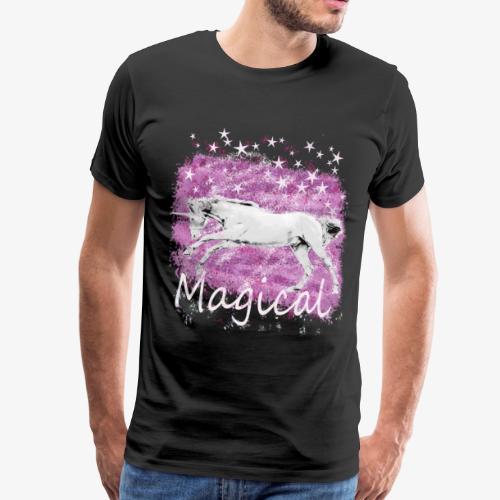 Unicorn Birthday Gift T Shirt for magical girls! - Men's Premium T-Shirt