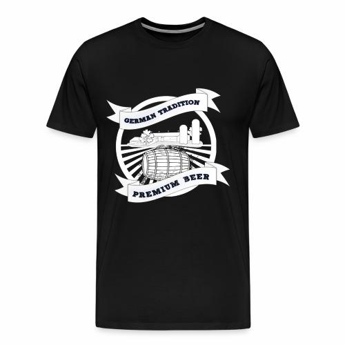 German Tradition Premium Beer - Männer Premium T-Shirt