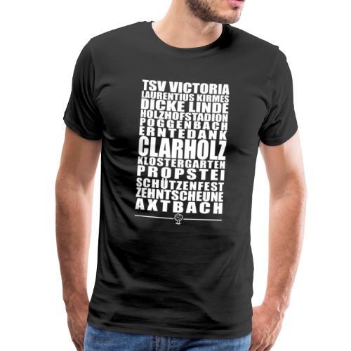 Clarholz Shirt - Das Shirt für alle Clarholzer - Männer Premium T-Shirt