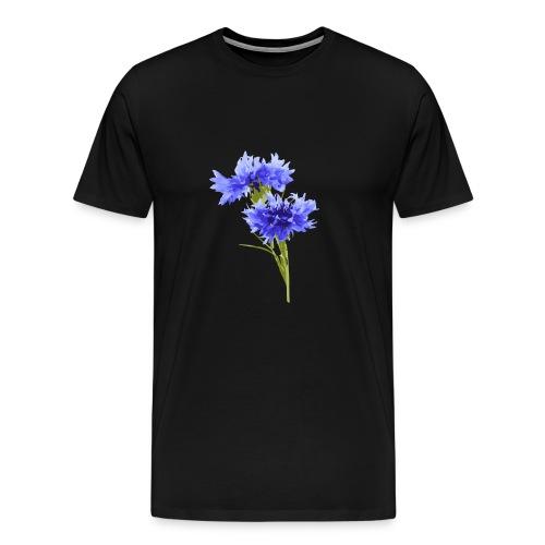 Kornblume - Männer Premium T-Shirt