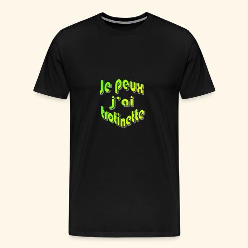 je peux pas j'ai trott - T-shirt Premium Homme