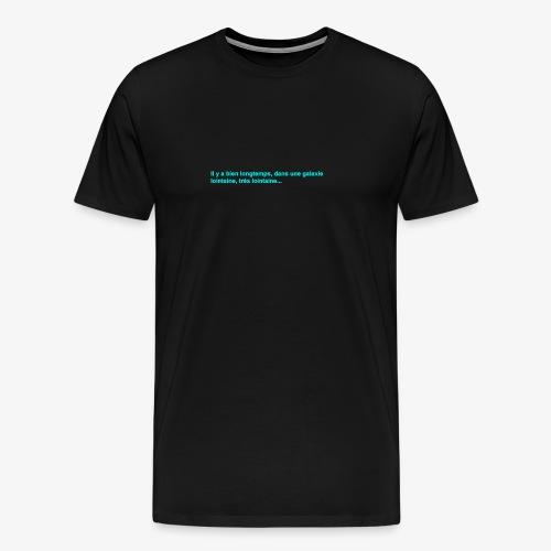 guerre etoile star - T-shirt Premium Homme