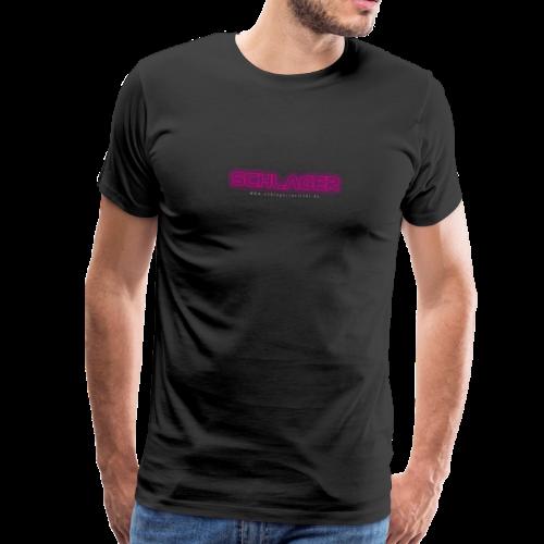 Schlager (Neon) - Männer Premium T-Shirt