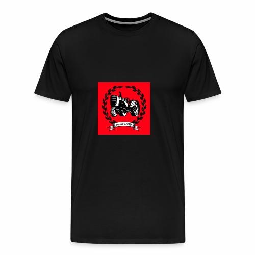KonradSB czerwony - Koszulka męska Premium