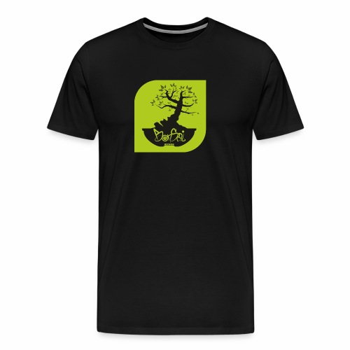 Bonsai Record - Männer Premium T-Shirt