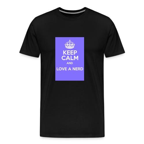 Love Nerd - Maglietta Premium da uomo