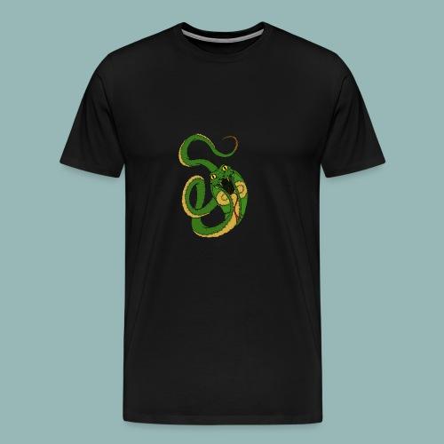 Kobra Bunt - Männer Premium T-Shirt