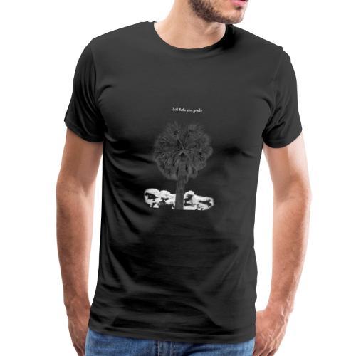 Meine Palme ist groß! - Männer Premium T-Shirt