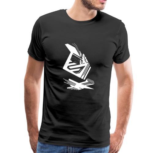 Nextxun Landscape - Camiseta premium hombre