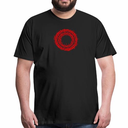 Calligrapy Schriftkreis - Männer Premium T-Shirt