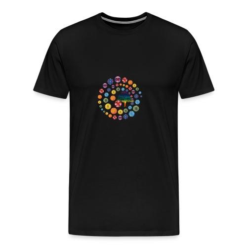 Espiral de Chakras - Camiseta premium hombre