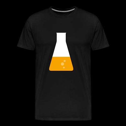 Erlenmeyerkolben - Männer Premium T-Shirt