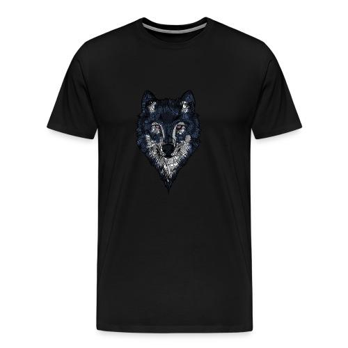 Ulv - Premium T-skjorte for menn