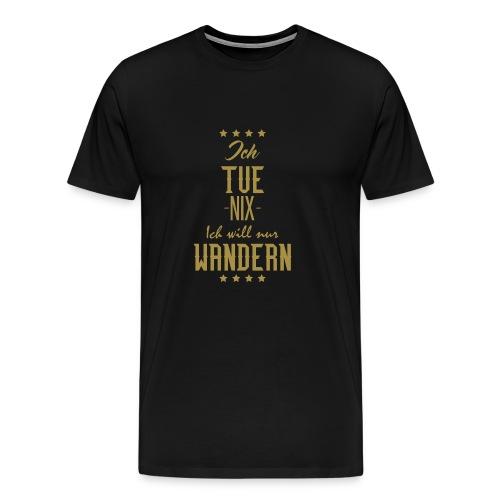 Wandern - Männer Premium T-Shirt