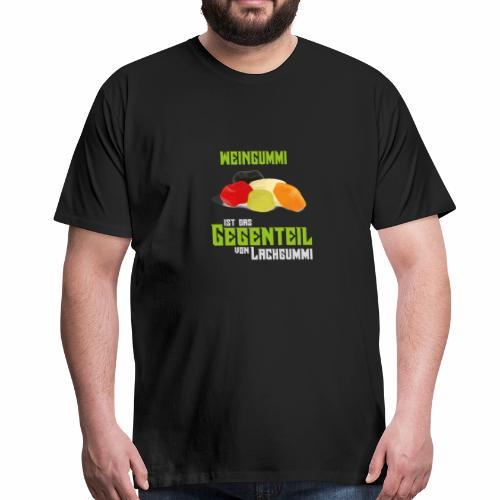 Weingummi - Männer Premium T-Shirt