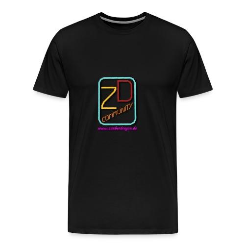 ZauberDragon LOGO 2 - Männer Premium T-Shirt
