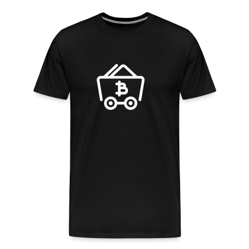 Bitcoin Miner - Mannen Premium T-shirt