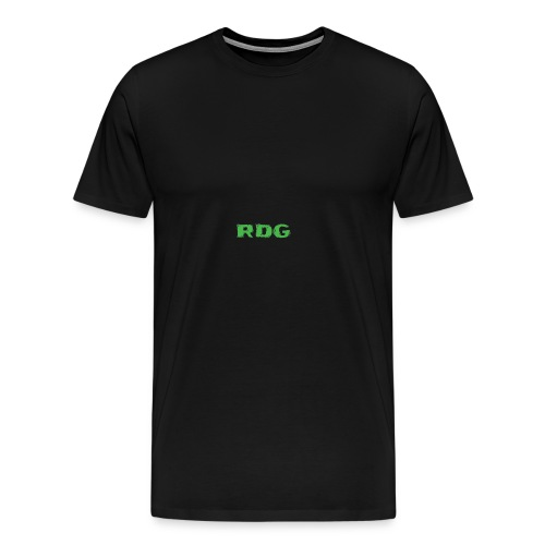 RDG Logo - Ravey D's Gaming - Men's Premium T-Shirt