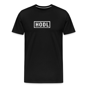 HODL SIGN - Men's Premium T-Shirt
