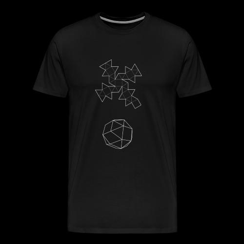 Serie 03 | Snub cube - Camiseta premium hombre