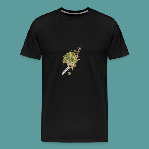Samurai-No-More - Men's Premium T-Shirt