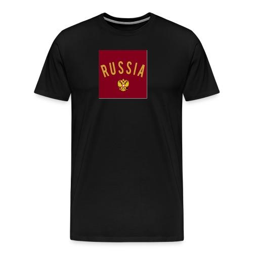 Russia Logo - Männer Premium T-Shirt
