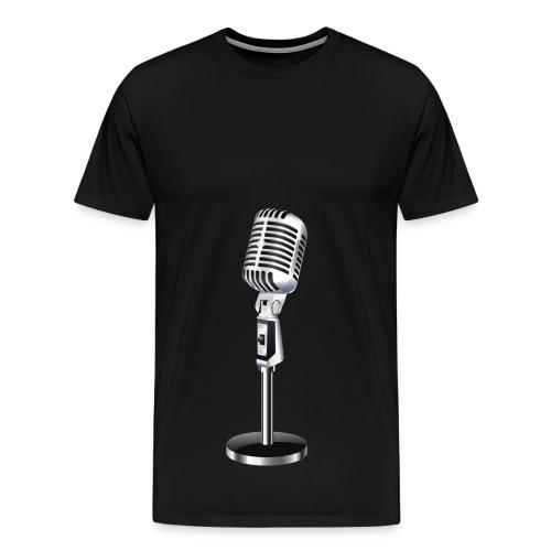 En Mikrofon T-Skjorte - Premium T-skjorte for menn