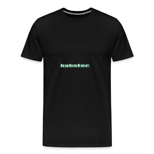 Babster Shirt - Mannen Premium T-shirt
