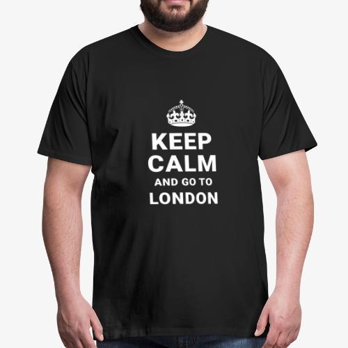 Keep calm and go to London - Männer Premium T-Shirt