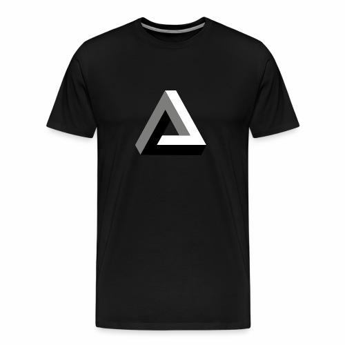 Das trendige Dreieck - Männer Premium T-Shirt