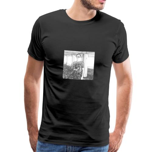 Tim Brown Sketch - Men's Premium T-Shirt