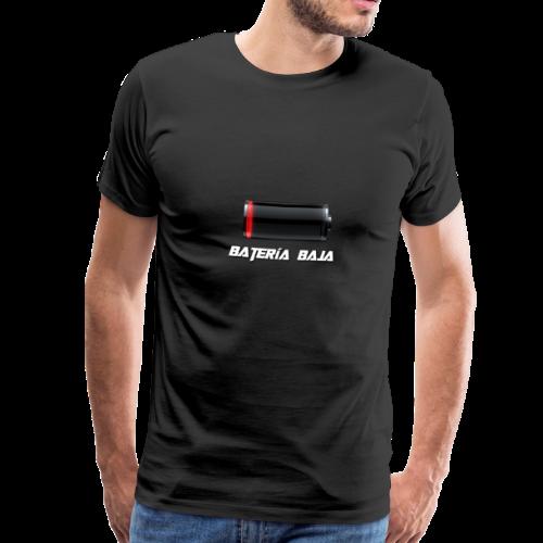 Batería Baja - Camiseta premium hombre