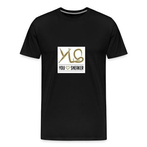 you love sneaker - Männer Premium T-Shirt
