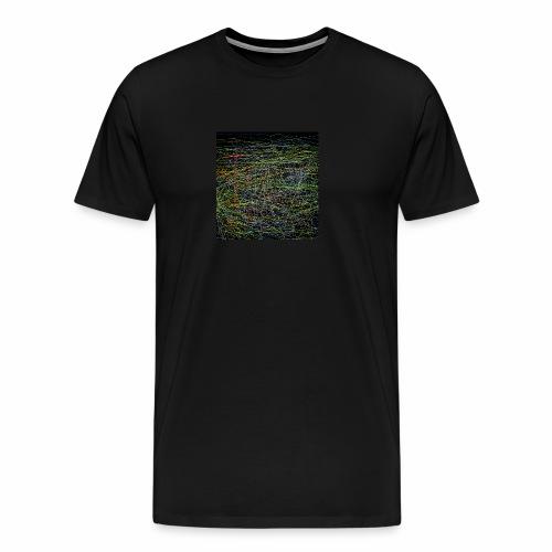 Ein Netzwerk aus farben - Männer Premium T-Shirt