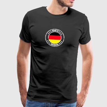 sittende arbeid - Premium T-skjorte for menn