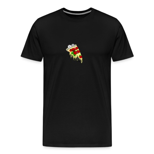 "Pizza-Logo ""foodporn"" - Männer Premium T-Shirt"