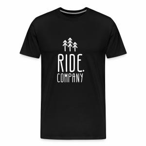 RIDE.company Logo - Männer Premium T-Shirt