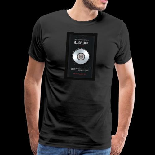 DJ G JOE JACK - DIGITAL DJ - Männer Premium T-Shirt