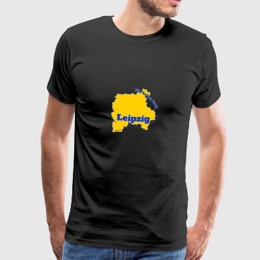 Leipzig - une durée de vie - T-shirt Premium Homme