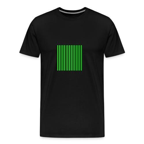 The henrymgreen Stripe Multi - Men's Premium T-Shirt