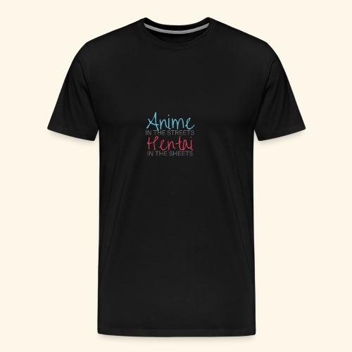 Anime and Hentai - Men's Premium T-Shirt