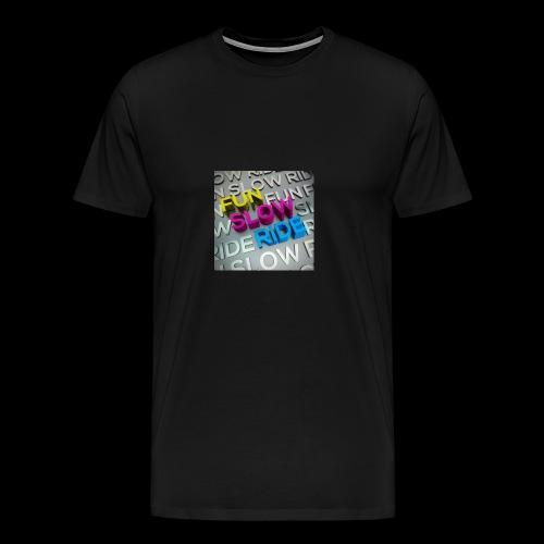 COVER ALBUM Fun Slow Ride 1024x1024 - Maglietta Premium da uomo